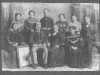 family photo with frank kitley burges in uniform